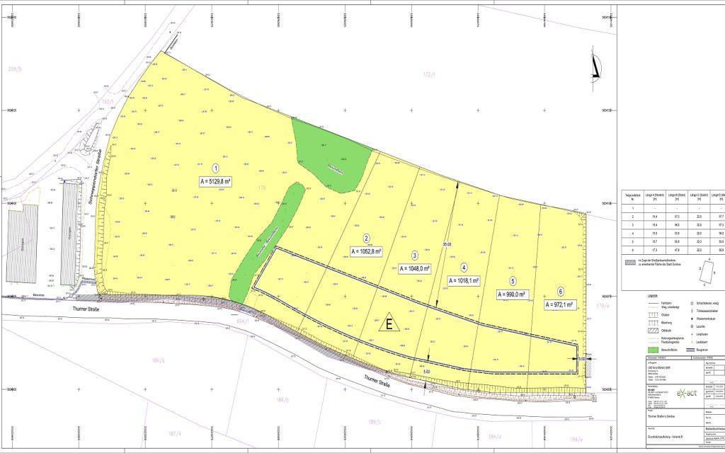 Alle Baugrundstücke am neuen Eigenheimstandort in Zwickau verkauft.